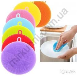 Мочалка для посуды - силикон № 826