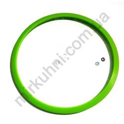 Крышка для кастрюли силикон - 28 см. № 232