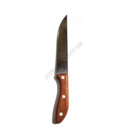 Нож дерево №6 с овал. ручкой бол. 153-6 № 178