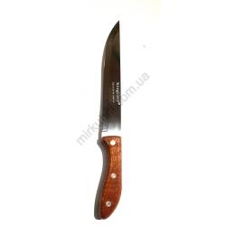 Нож дерево №7 с овал. ручкой бол. 153-7 № 810/Б