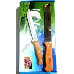 Нож дерево ТМ034 узкий № 852