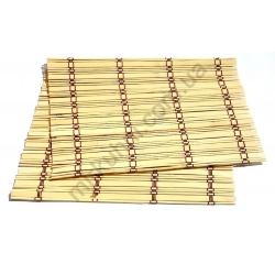 Подставка - коврик для суши/роллов - бамбук № 293
