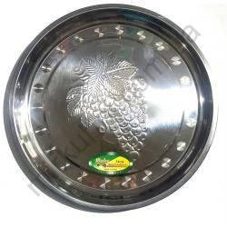 Разнос круглый (34 см.) - металл № 494