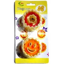 Форма для печенья - пластик на блистере № 5377