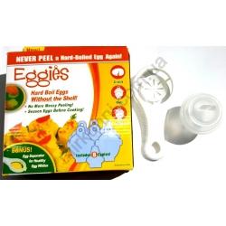 Форма для яиц - пластик белая (6шт.) № 1110