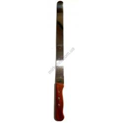 Нож для шаурмы - коричневая ручка № 589