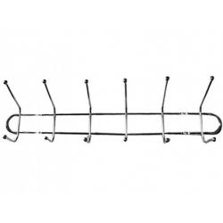 Вешалка-6 крючков-металл № 342