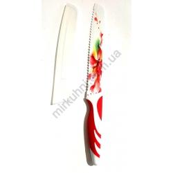 Нож - пила - металлокерамика - узкий-цветной № 654