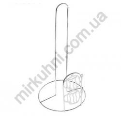 """Подставка - держатель для бумажного полотенца """"Чайник"""" метал № 360"""