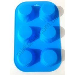 Форма для кексов фигурная на листе - силикон № 1103
