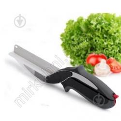 Ножницы для резки зелени и овощей 2в1