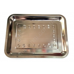 Разнос квадрат (26х36 см.) - металл № 735
