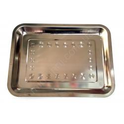 Разнос квадрат (22х32 см.) - металл № 740