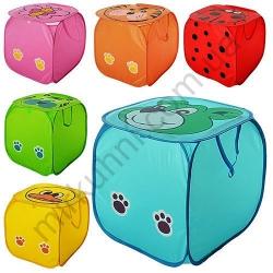 """Сетка - корзина для игрушек""""Кубик"""" - бол. № 521(882)"""