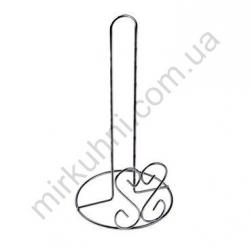 """Подставка - держатель для бумажного полотенца """"Сердце"""" метал № 156/С"""