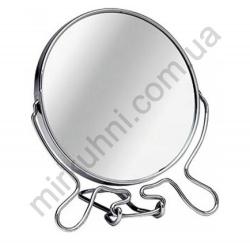 Зеркало настольное - круглое №6 - метал № 111