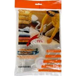 Пакет - вакуум для одежды 60х80 № 713